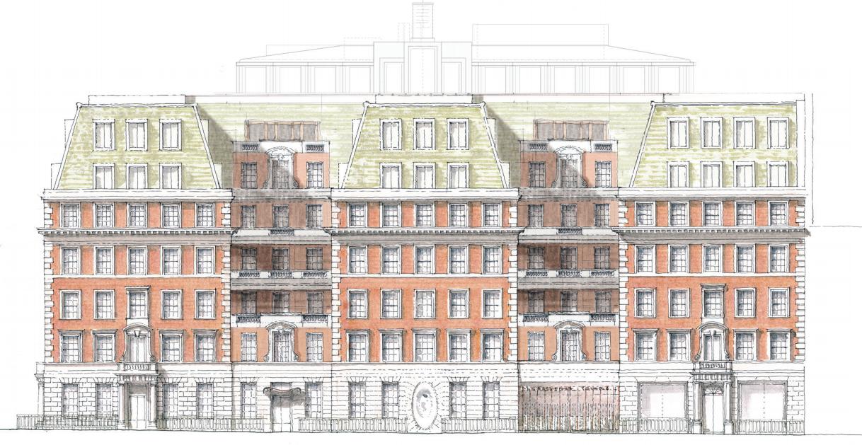 Macdonald House 1 3 Grosvenor Square London Planning News