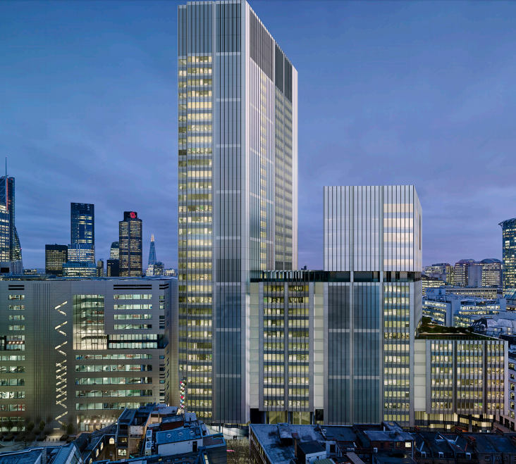 2 3 Finsbury Avenue Square London Planning News