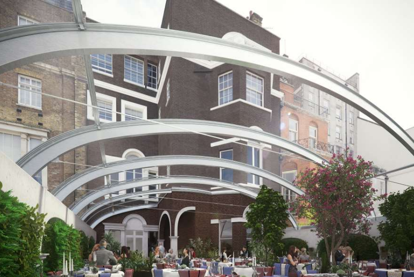 46 Berkeley Square And 46 Hay S Mews London Planning News
